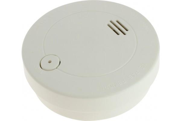 installation de détecteur de fumée câblé