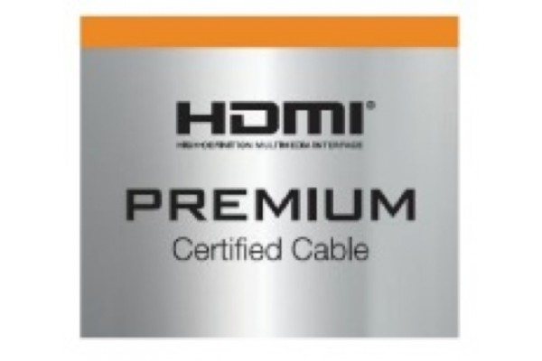 cordon hdmi premium haute vitesse avec ethernet 1m. Black Bedroom Furniture Sets. Home Design Ideas