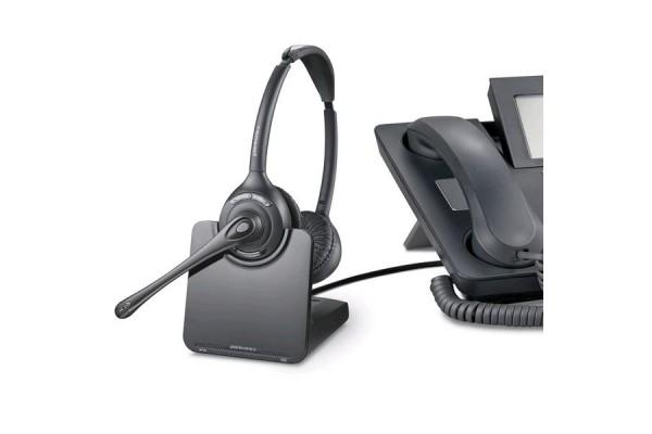 Plantronics cs540a casque sans fil t l phone de bureau 1 - Telephone fixe sans fil longue portee ...