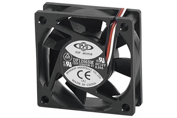 Ventilateur de boitier 12 volts 3 fils 60x60x20mm 910150 votre grossiste connectique - Ventilateur de plafond 12 volts ...