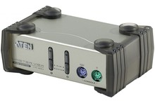 Aten CS82AC Switch KVM 2 U.C. PS2 + Cables