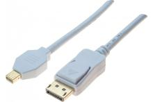 Cordon displayport / mini displayport 1.2 blanc - 3M