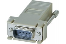 DB9 male to RJ-45 adapter