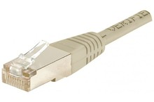 Cat5e RJ45 Patch cable F/UTP grey - 10 m