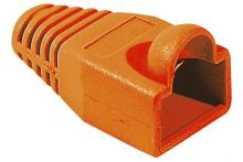 Manchon RJ45 orange snagless diamètre 5,5 mm (sachet de 10 pcs)