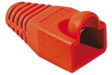 Manchon RJ45 rouge snagless diamètre 6 mm (sachet de 10 pcs)